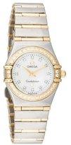 Omega Constellation Two-Tone Diamond Watch