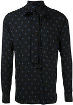Saint Laurent dot print shirt