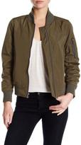 Rachel Roy Solid Bomber Jacket