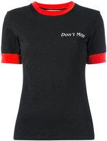 Off-White Hand Gun ripped T-shirt - women - Cotton/Micromodal - S
