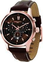 Jorg Gray JG6800-24 Dial & Leather Strap Chronograph Men's Watch