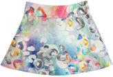 Simonetta Abstract Organza Jacquard Skirt