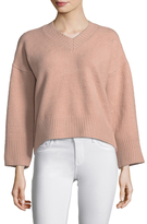 Lucca Couture Dropped Shoulder Sweater
