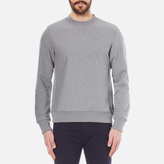 Paul Smith Men's Plain Crew Neck Sweatshirt Grey