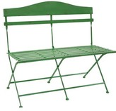 Ophelia Trull Slotted Bench Metal Garden Bench & Co.
