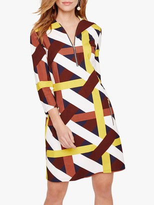 Damsel in a Dress Melissa Ponte Abstract Print Dress