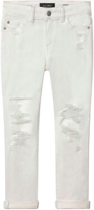 DL1961 Girl's Harper Distressed Boyfriend Denim Jeans, Size 4-6