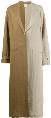 Alysi Two-Tone Trench Coat