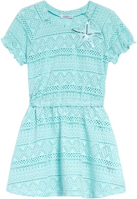 Flapdoodles Kids' Lace Cover-Up Dress