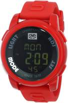 Ecko Unlimited Marc Ekco Men's 20-20 Digital Resin Strap Watch E07503G4