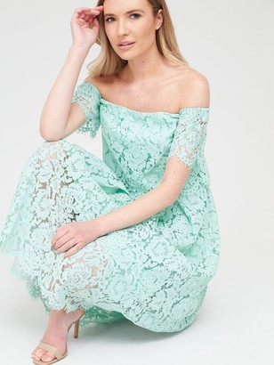 Very All Over Lace Bardot Prom
