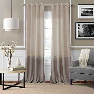 Elrene Home Fashions Melody Sheer Colorblock Window Panel, 52 x 84