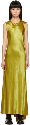 Ann Demeulemeester Yellow Keyhole Dress