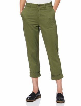 Meraki Amazon Brand Women's Slim Fit Cropped Chino Trouser