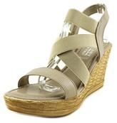 Easy Street Shoes Felisa W Open Toe Synthetic Wedge Sandal.