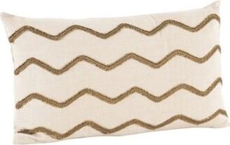 Waverly Saro Design Cotton Lumbar Pillow Saro