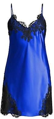 Christine Women's Diva Silk & Lace Chemise