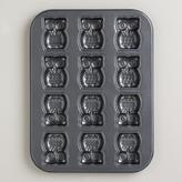 Cost Plus World Market Nonstick Owl Cakelet Pan