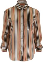 Burberry Striped Silk Shirt