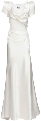 Vivienne Westwood Peace Silk Satin Dress