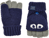 Joules Little Joule Children's Character Mittens, Blue/Grey