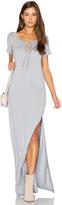 Lanston Caftan Shirt Maxi Dress
