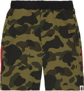 A Bathing Ape Camouflage print cotton shorts 4-8 years