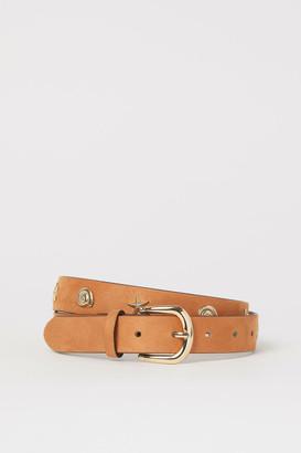 H&M Appliqued belt