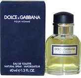 Dolce & Gabbana by for MEN: EDT SPRAY 1.3 OZ