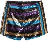 Giamba Sequin Shorts