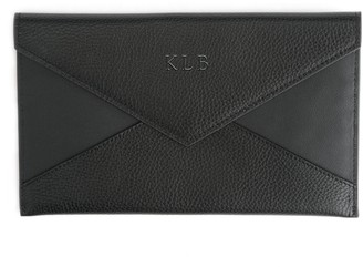Royce Leather Royce New York Personalized Envelope Clutch