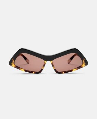 Stella McCartney havana rectangular sunglasses