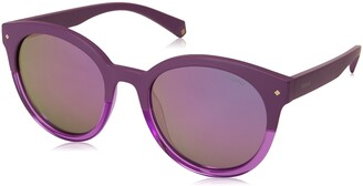 Polaroid Sunglasses Women's Pld6043s Polarized Oval Sunglasses