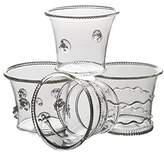 Abigails La Boheme Clear Votives, Set of 4