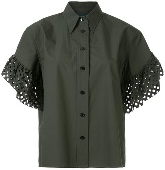 Kolor Perforated Sleeves Shirt
