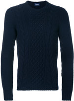 Drumohr classic long sleeved sweater