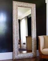 Interlude Mother Of Pearl Floor Mirror