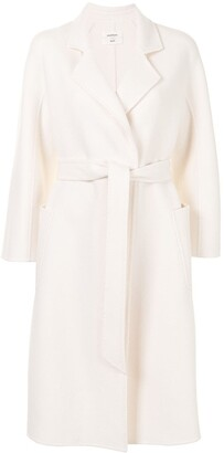 Onefifteen Belted Wool Coat