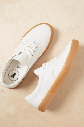 French Connenction Ade Canvas Lace Up Sneakers