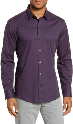 Zachary Prell Neesam Regular Fit Button-Up Shirt