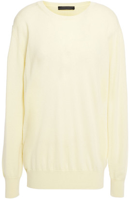 The Row Melange Cashmere Sweater