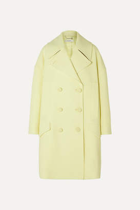 Givenchy Double-breasted Wool Coat - Yellow