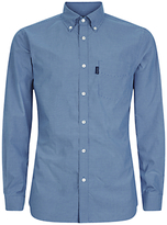 Aquascutum Orville Micro Check Shirt, Blue
