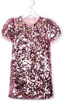 Dolce & Gabbana sequinned tulle dress
