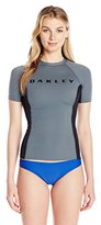 Oakley Women's Short-Sleeve Rashguard