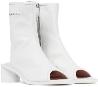 Acne Studios Berla cut-out leather boots