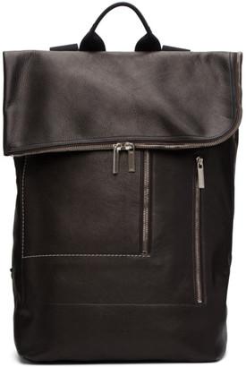 Rick Owens Black Tecuatl Duffle Backpack