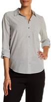 Soft Joie Collared Stripe Shirt