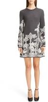 Chloé Women's Merino Wool Dreamscape Jacquard Dress