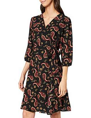 Yumi Paisley Print Wrap Dress